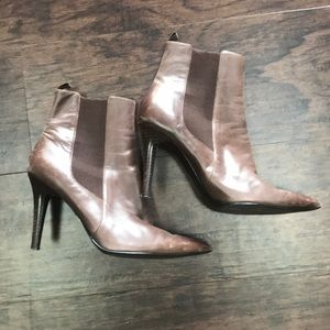 Ralph Lauren Brown Leather booties